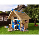 Casinha de madeira infantil - Crazy Playhouse