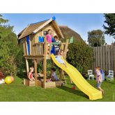 Casita de madera infantil – Crazy Playhouse CLX