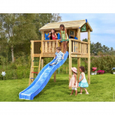 Casinha infantil de madeira CrazyJungle Playhouse XL