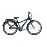 Bicicleta Crusader 24-7 Alu City light Negro Puky